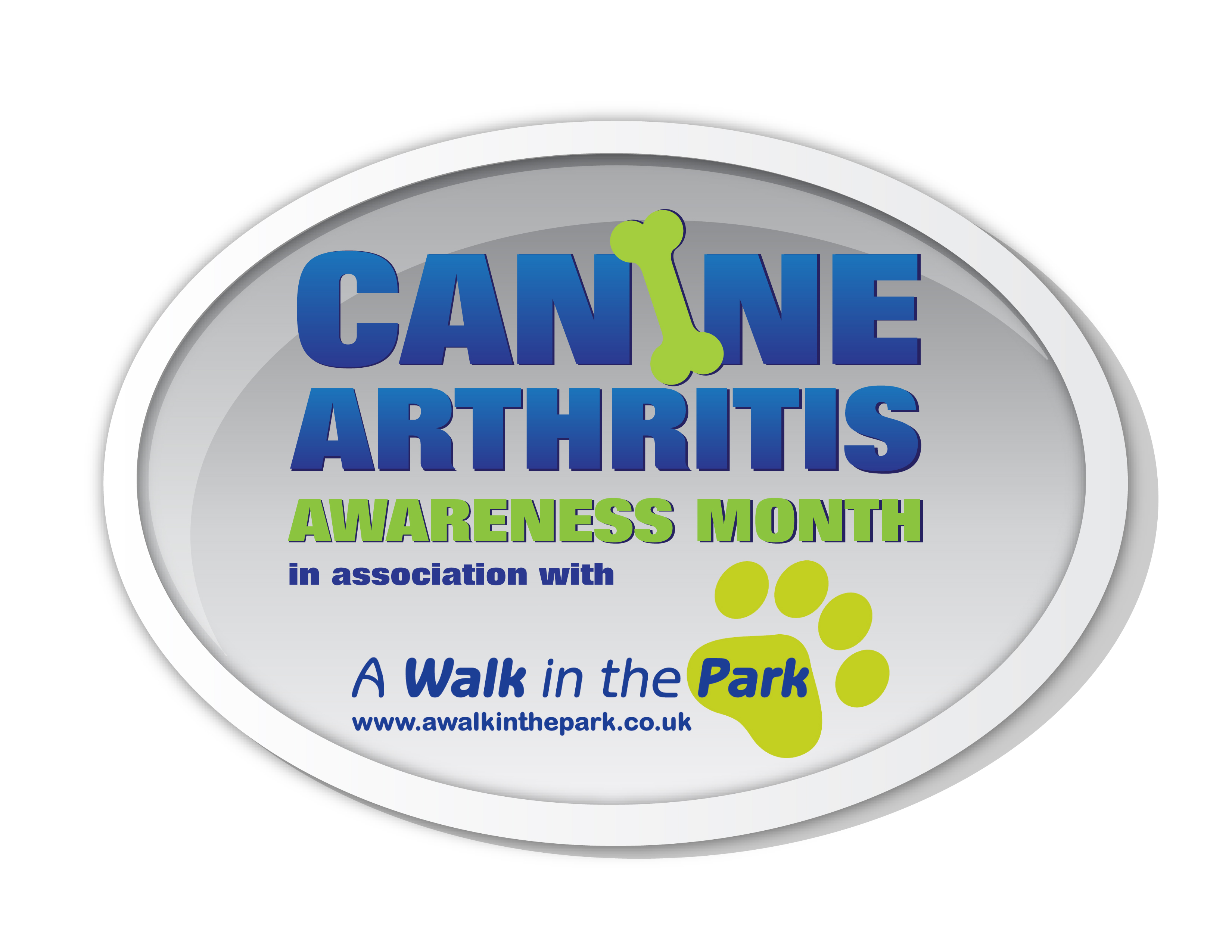 Canine Arthritis Awareness Month in association with A Walk In The Park