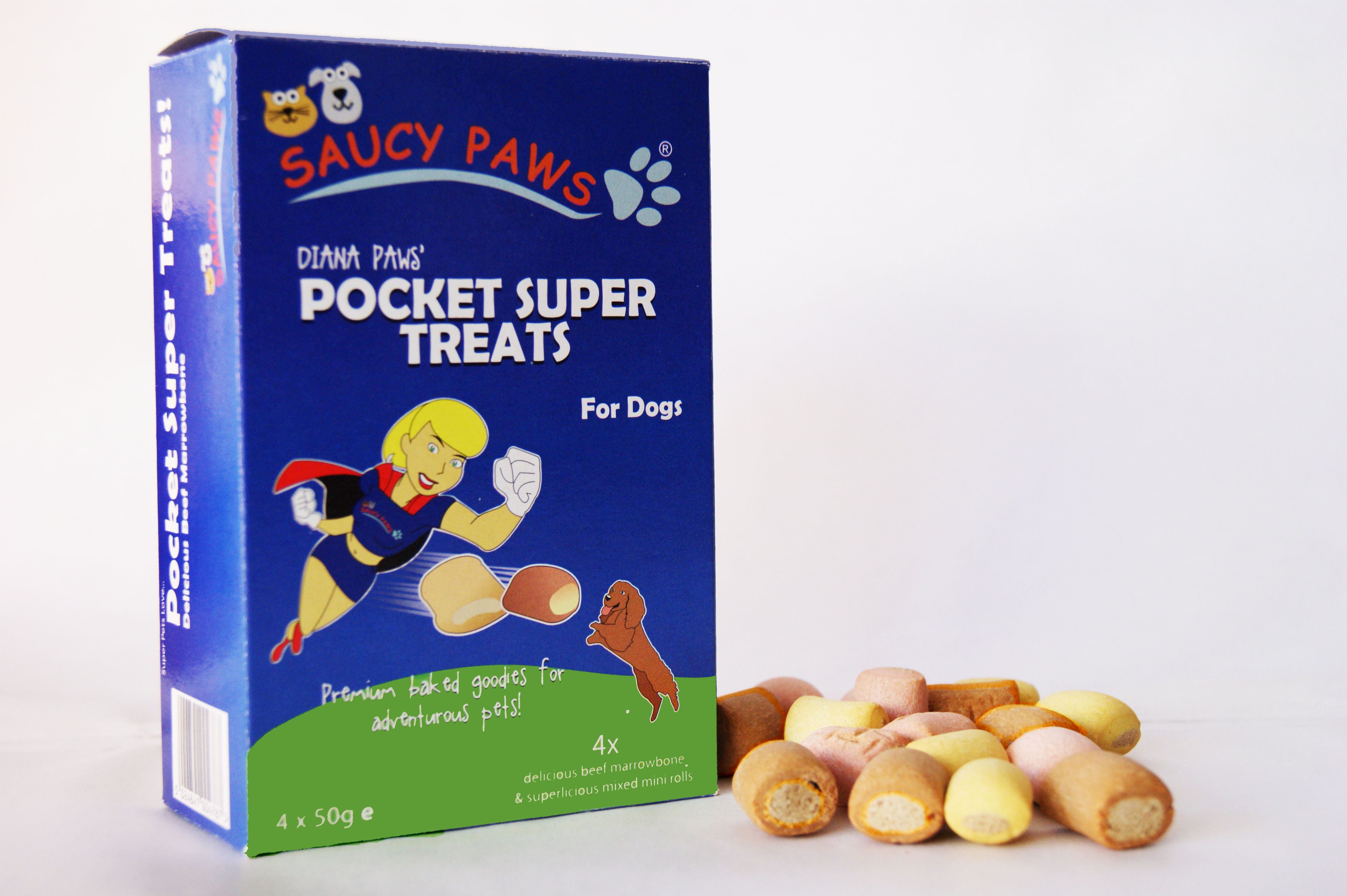 saucy paws dog treats